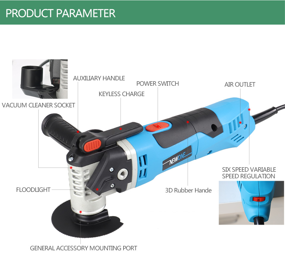 Function Saw NEWONE Renovator Random Tool Multi Trimmer Sets Home Electric Colors Woodworking Two Oscillating Tool Delivery