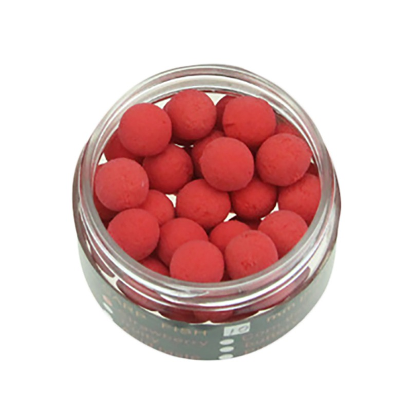 40pcs Smell Carp Fishing Bait Foam Pop-Up Soft Pellets Boilies Eggs Floating Ball Beads Feeder Artificial Lures image
