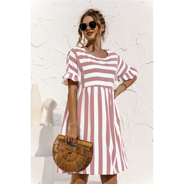 striped country dress 5