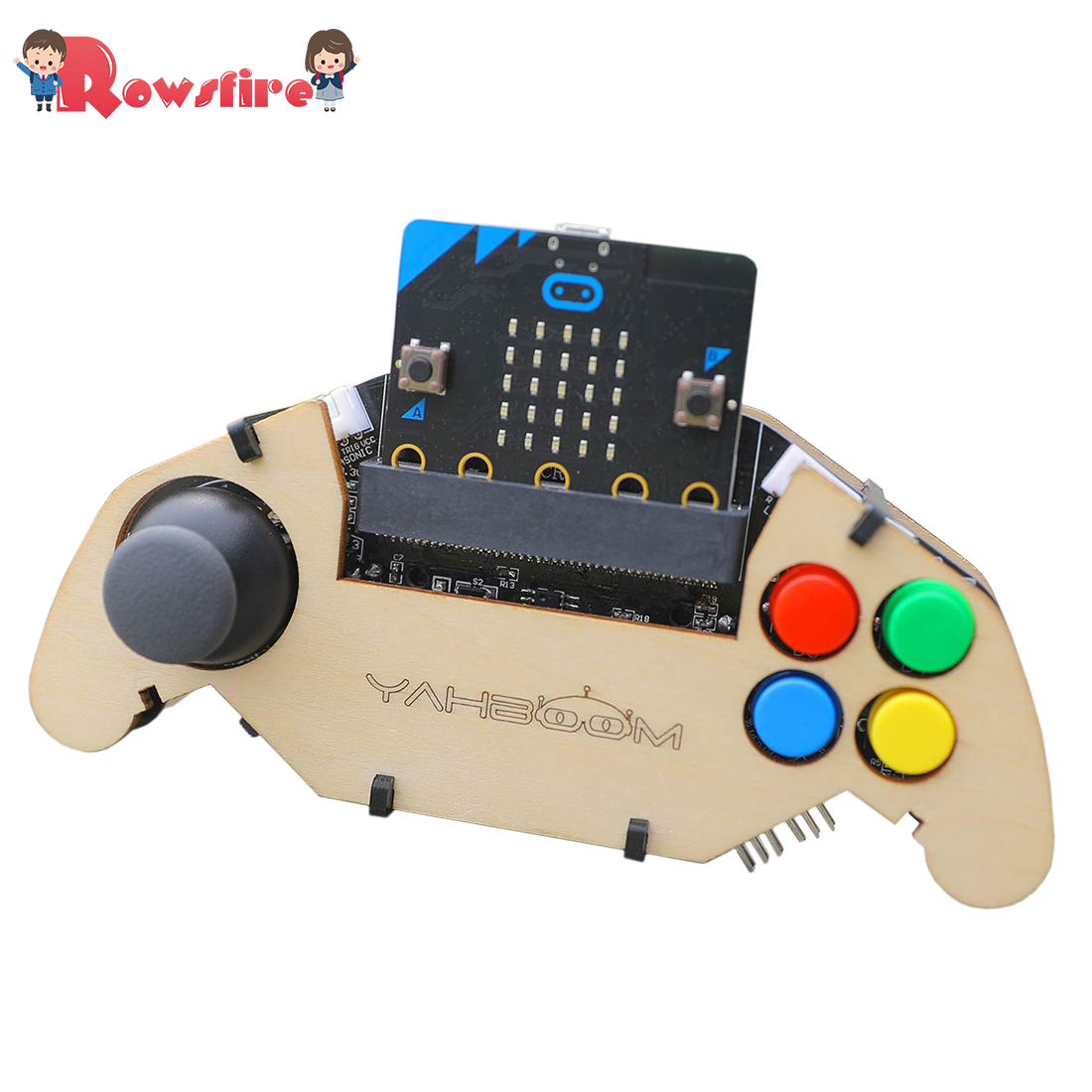 2019 New Hot Micro:Bit Gamepad Expansion Board Handle Microbit Robot Car Joystick STEM Toys Programming Game Controller