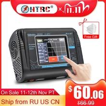 Orijinal HTRC T240 DUO RC şarj cihazı deşarj çift kanal AC 150W DC 240W dokunmatik ekran dengesi Lipo şarj cihazı RC oyuncak arabalar
