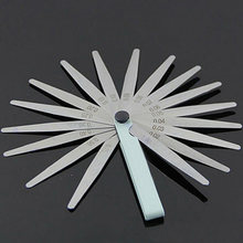 1* Car Auto Gap Feeler Gauge Valve&gap Adjustment 0.02-1mm Measuring Hand Tools(China)