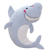 Kawaii shark плюшевые игрушки животные Новинка Мягкие kawaii