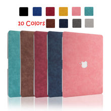 Pu Leather Shell Skin Cover Case Voor Apple Macbook Pro Air 13 13.3 15 16 11 12 Inch Laptop 2019 2020 Nieuwe A1932 A1706 A2289 A2141(China)