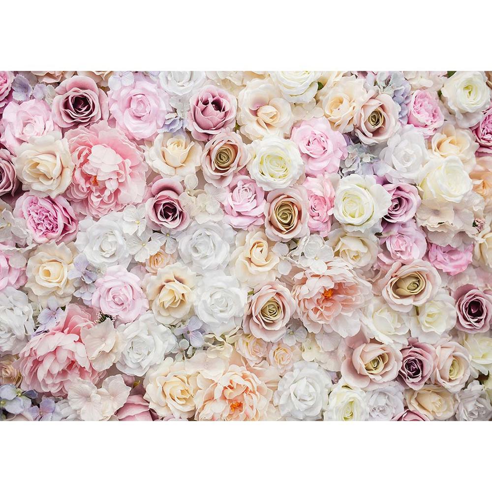 Flores dia dos namorados foto backdrops vinil pano de fundo para os amantes do casamento retrato crianças photoshoot fotografia adereços