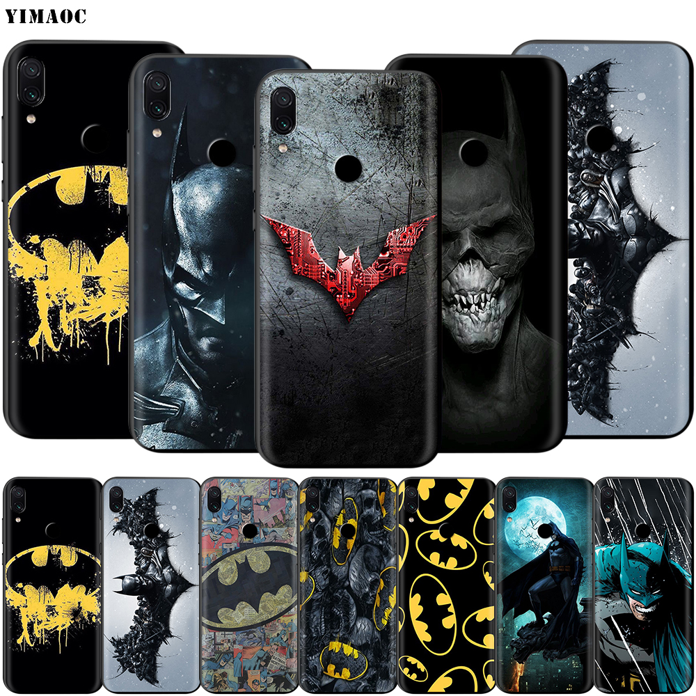Batman Superhero Case For Xiaomi Redmi Note 4 4X 4A 5 5A 6 8 8A MI 9 9S 10 8T K30 Pro Max Lite Plus