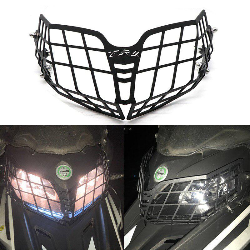 Adeeing Motorcycle Modification Headlamp Net Headlight Grille Guard Cover Protector For Benelli TRK502X 2018