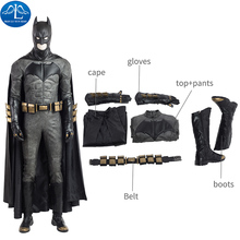 ManLuYunXiao Cosplay Costume Newest Justice League Cosplay Costume Batman Cosplay Costume For Halloween Men Full Set Custom Made custom made fire emblem fates cosplay costume adult takumi cosplay costume halloween cosplay costume