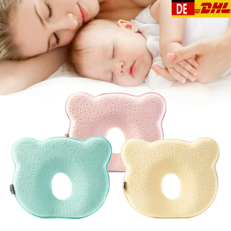 Newborn Baby Pillow Soft Infant Baby Nursing Prevent Flat Head Memory Foam Cushion Shaping Pillow Sleeping Positioner Protect