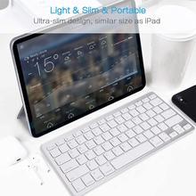 Ultra-Slim Wireless Bluetooth Keyboard  for iPad,iPhone,Samsung ,Android, Windows, PC, Tablets Phones Keyboard