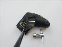 Vicky g clubes de golfe fastback 1.5 putter fastback 1.5 golf putter 33/34/35 polegada eixo aço com cabeça cobrir