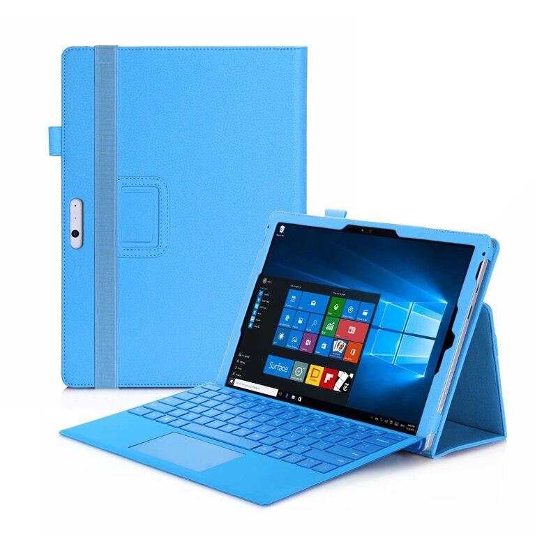 Case para Microsoft Suporte de Couro do Plutônio Capa para Microsoft Surface Tablet 6 – 5 4 Pro 7 2020