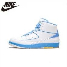 Nike Air Jordan Retro 2 Original Men Basketball Shoes Comfortable New Arrival Outdoor Sports Sneakers #385475-122 цены онлайн