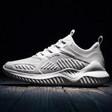 Più il Formato 35 48 scarpe da ginnastica scarpe da tennis di formazione di Leggero E Traspirante degli uomini di modo Confortevole scarpe # ABG82