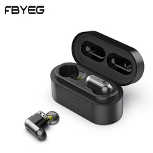 FBYEG TWS Bluetooth Earphone V5.0 Wireless Earphon
