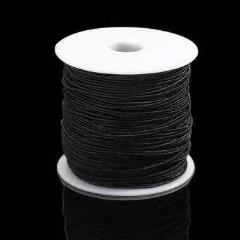 7m/bag 1mm Round Elastic Cord Beading Stretch Thread/String/Rope for Necklace Bracelet Jewelry Making Supply 7