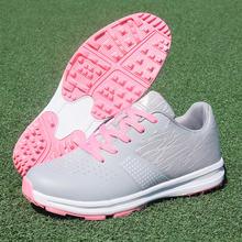 Женская обувь для гольфа профессиональная женщин нескользящая