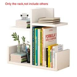 Drewniany stojak na książki gabinet dziecięcy dekory na biurko półka na książki kreatywna nowoczesna półka ścienna do przechowywania w domu książka biurowa| |   -