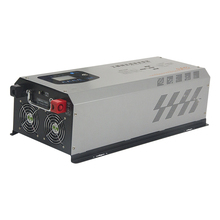 цена на 1000W2000W3000W4000W5000W Solar Power Frequency Pure Sine Wave Inverter 12V24V48V to 220V Home UPS