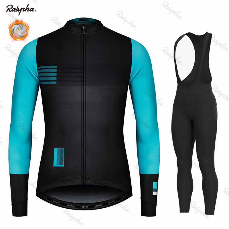 New  2019 Racing Thermal Fleece Cycling Jersey Set Gobiking Cycling Bib Shorts Bike Jersey Set Ropa Ciclismo Hombre Cycling Kit