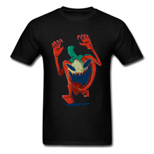 paprika zombie Wholesale Student T-shirts Crewneck Short Sleeve 100% Cotton Tops Tees Design Tee Shirts Top Quality