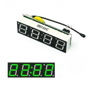 DS1302SN RX8025T красные, синие зеленый 3 в 1 светодиодный цифровые часы Температура Напряжение модуль Время термометр Вольтметр доска DC 5V-30V