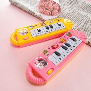 Image 5 - เปียโนเด็กของเล่นเด็กวัยหัดเดินพัฒนาการของเล่นพลาสติกเด็กดนตรีเปียโนของเล่นเพื่อการศึกษาเครื่องดนตรี