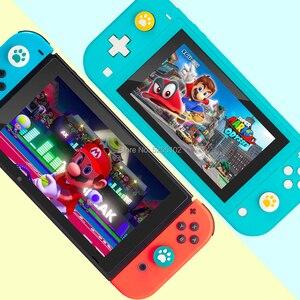 Image 4 - 4 pezzi per nintendo Switch Lite NS Joy Con Controller Gamepad custodia a levetta simpatico gatto zampa artiglio pollice Stick Grip Cap Joystick Cover