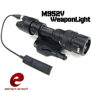 Элемент страйкбол M952V оружие Свет Стробоскопическая Светодиодная лампа тактический фонарик Linterna Softair Arma пистолет лампа охотничьи фонари