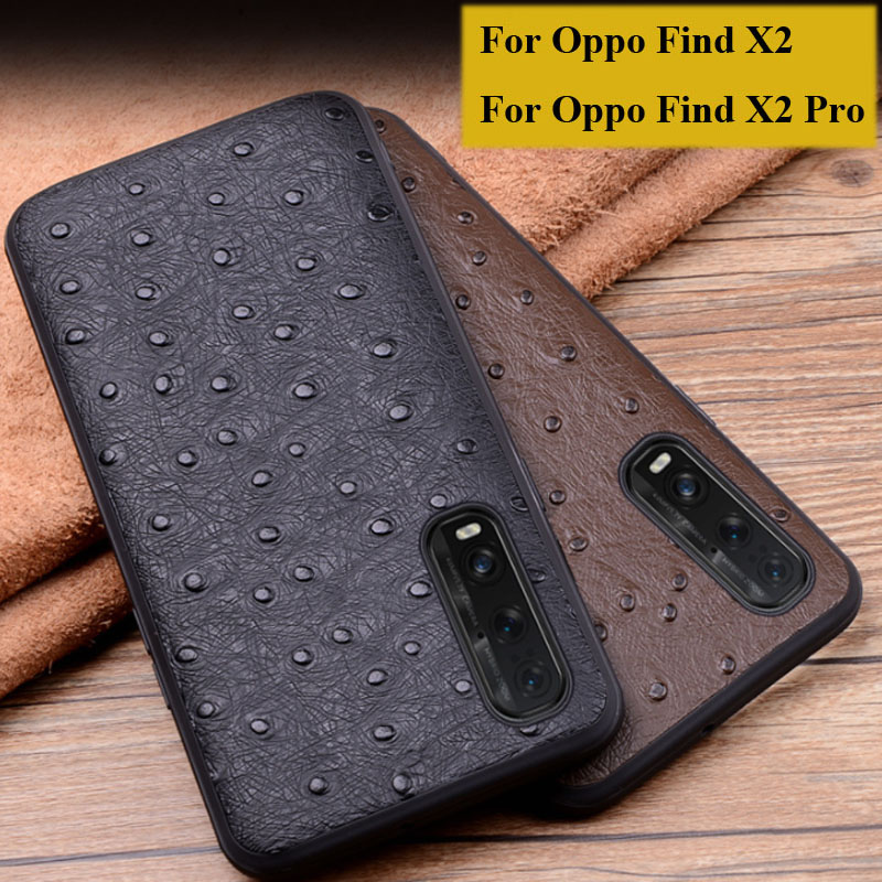 For <font><b>Oppo</b></font> <font><b>Find</b></font> x2 <font><b>X</b></font> 2 Case <font><b>cover</b></font> Luxury Genuine Leather <font><b>flip</b></font> Back <font><b>Cover</b></font> For <font><b>Oppo</b></font> <font><b>Find</b></font> X2 pro case back shell X2pro image