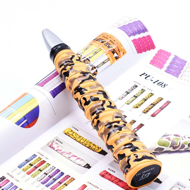 Badminton Racket Tape Anti-skid Hand Glue Sweat Absorbing Camouflage Belt Tape Badminton Racket Cover Tape Non-slip Winding Belt 3