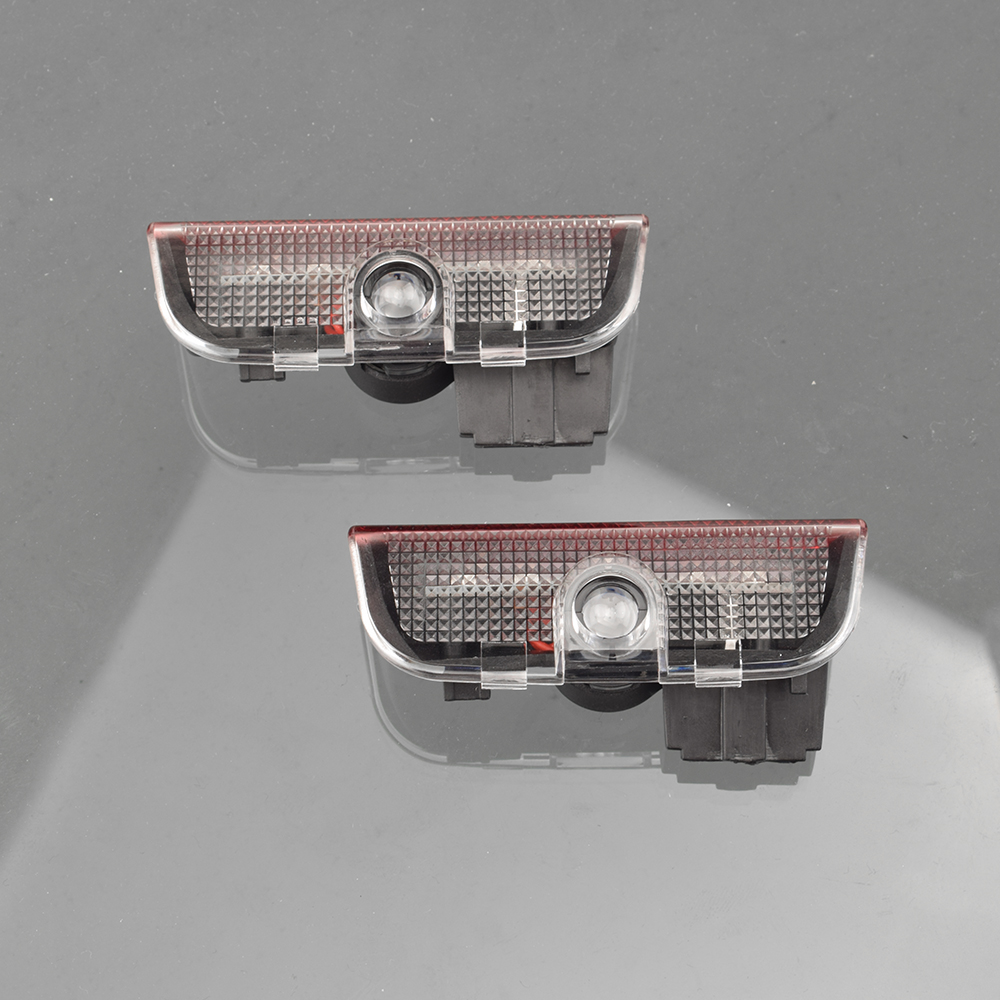 2Pcs Car <font><b>LED</b></font> Door <font><b>Light</b></font> Projector Welcome Lamps For Volkswagen <font><b>VW</b></font> Passat B6 B7 Tiguan Jetta <font><b>MK5</b></font> MK6 MK7 <font><b>Golf</b></font> 5 6 7 <font><b>MK5</b></font> T-ROC image