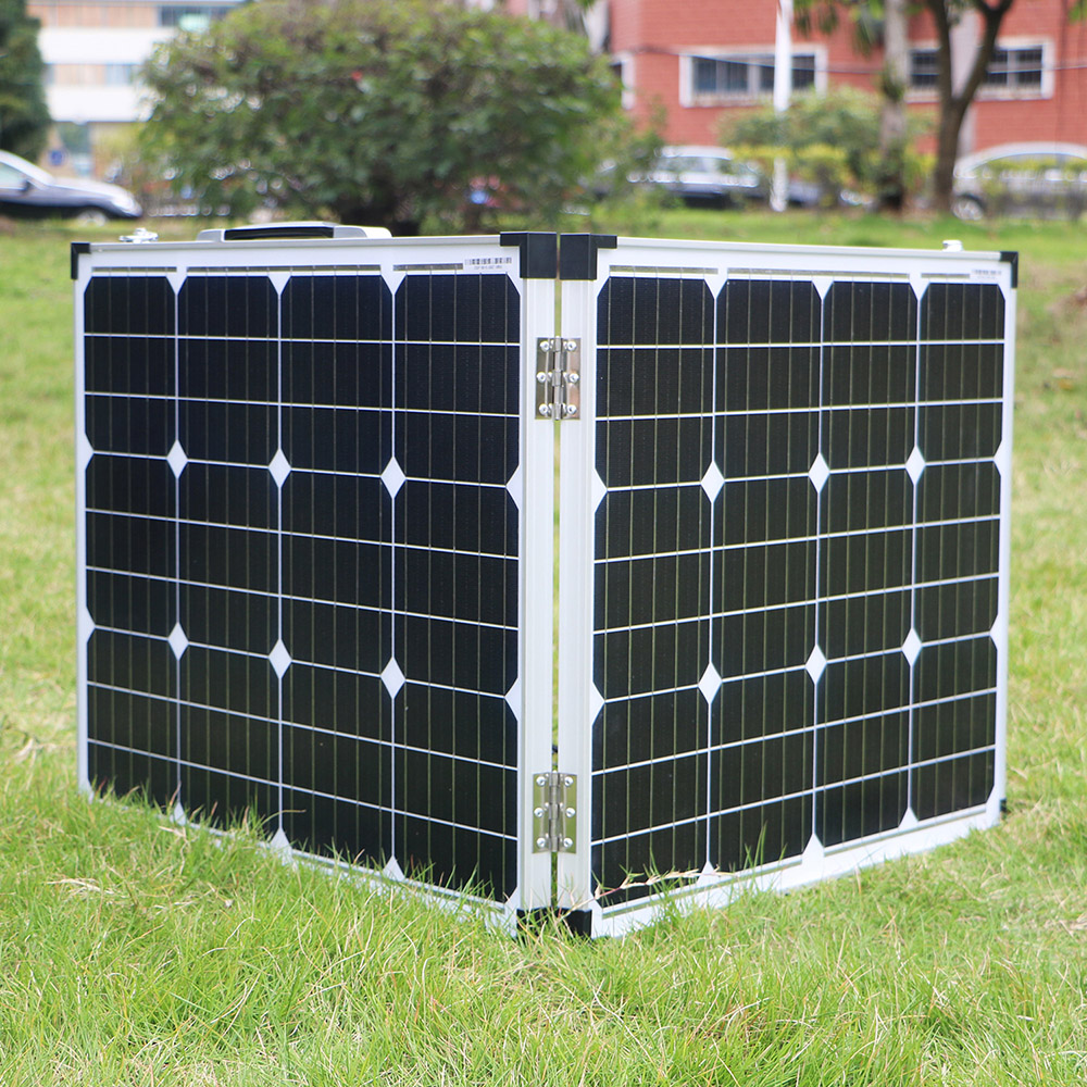 Image 3 - Dokio 100W (2Pcs x 50W) Foldable Solar Panel China pannello solare usb Controller Solar Battery Cell/Module/System ChargerSolar Cells   - AliExpress