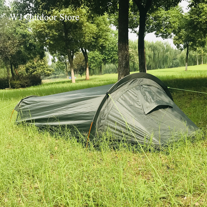 BackPacking Tent Waterproof Lightweight 1 2 Man Person Easy Set Up Single Tent for Hiking Camping