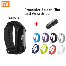 Xiaomi Mi Band 3 Global version Smart Wristband Fitness Bracelet watch Big Touch Screen Message Heart Rate Time Smartband(China)