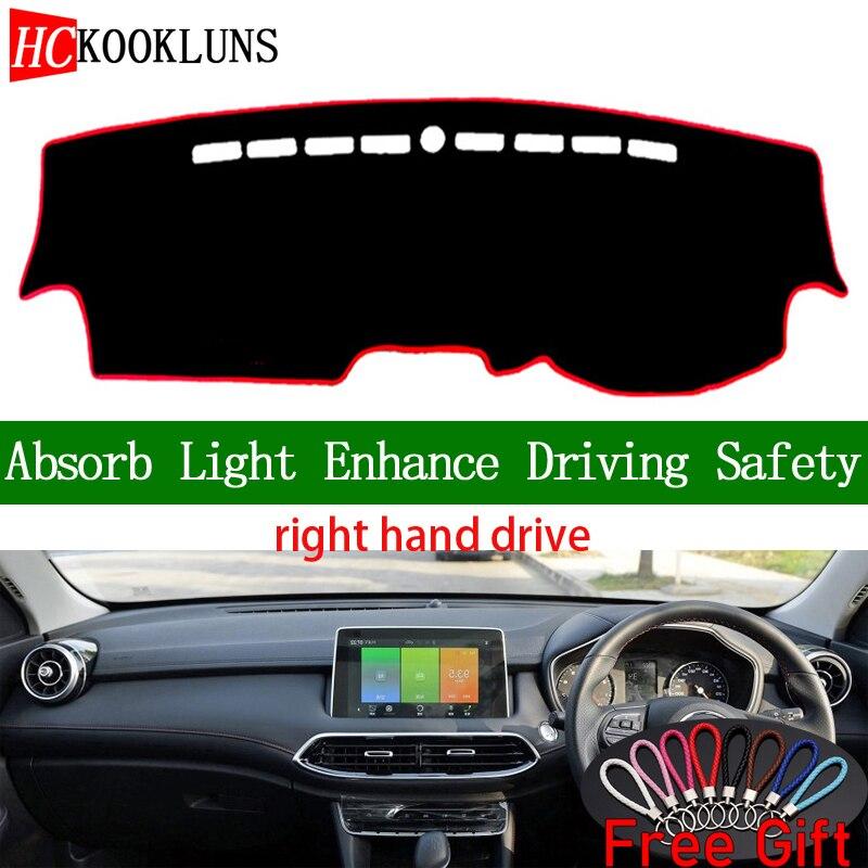 For MG GS 2015 2016 2017 ABS Matt Interior Dashboard Navigation Frame Trim 1PCS