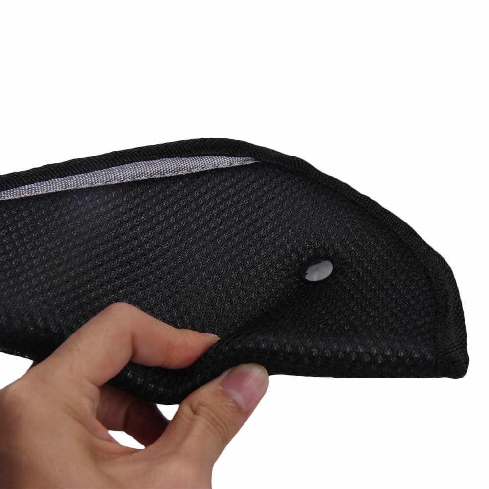Ajustador de Cinto De Segurança do carro Estofamento para Crianças Caçoa Bebê Mat Pad Proteção Do Carro Ajuste Seguro Macio Tampa Alça Auto acessórios