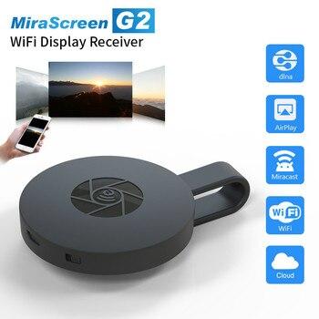 MiraScreen-llave electrónica para TV Stick, miracast, receptor de pantalla Cast, WiFi, HDMI para anycast, Mini PC, Android TV, anycast