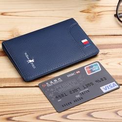 Мужская маленькая сумка для карт, мужской мини-кошелек, кожаный супер тонкий кожаный мужской короткий кошелек с зажимом