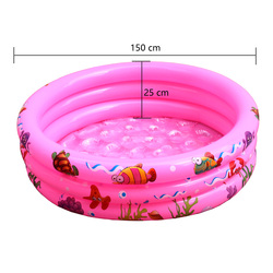 150X25 cm Play Ball Pool Baby Swimming Pool Child Summer kids Water Toys Inflatable Bath Tub Outdoor sports Swiming Pool Mat