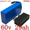 60V литиевая батарея 60V 30AH аккумуляторный отсек для электрического велосипеда 60V 1500W 2000W 2500W 3000W аккумулятора электроскутера использовать теле...