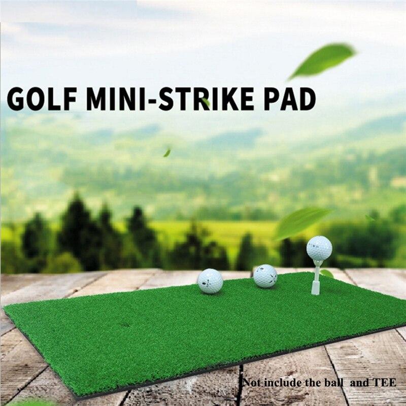 Golf Hitting Mat Golf Training Aids Rubber Grassroots Golfs Chipping Driving Cutting Grass Mats 6 Styles
