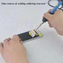 UYUE 301D Elektrische Kleber entfernen & schweißen löten eisen werkzeug handy reparatur mit elektrische temperatur einstellung control