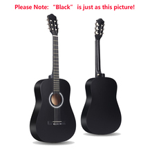 Acoustic-Guitar Wood Classic 6-Strings Beginner for 38-Inches