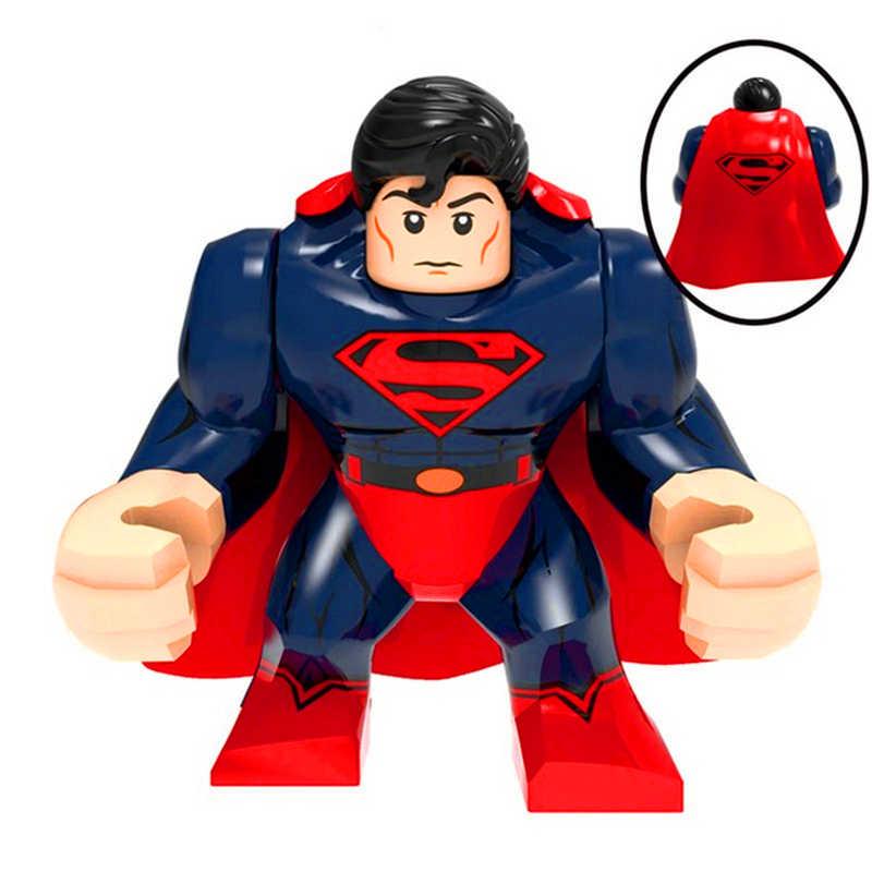 Superman Marvel Heros Hulkbusters Model zabawki budowlane Technic prezent dla dzieci