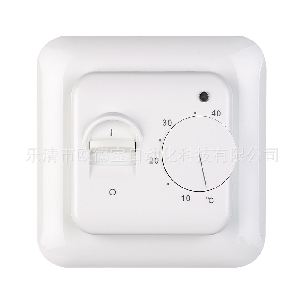 220V 16A Electric Floor Heating Room Thermostat Temperature Controller Warm Regulator Mechanical Manual Operation