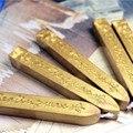 2 шт. Винтаж золото рукопись уплотнение восковые мелки Фитили для почты, писем Офис Применение FDH