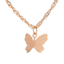 Boho Cute Butterfly Choker Necklace for Women Gold Clavicle Chain Statement Necklace Collar Female Chocker Fashion Jewelry(China)