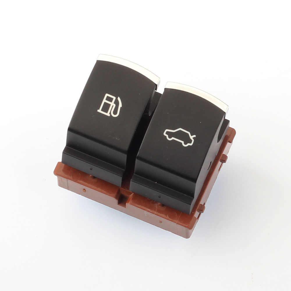Dasbecan-interrupteur de libération sur coffre de carburant, chromé, pour VW Passat B6 B7 3C Jetta MK5, bouton pour bagages 35D 959 903 35D959903