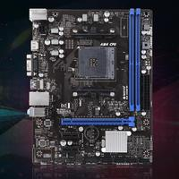 Motherboard A320M VH Motherboard Socket AM4 Overclocking Dual Channel 32GB DDR4 USB3.1 SATA3.0 For AMD Ryzen